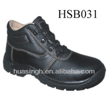 anti-drop high class foot protection smart design flexible working shoes middle cut