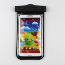 Innovative design sand beach/swimming waterproof pouch for samsung Note III
