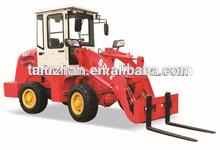 wheel loader mini ZL12 with CE 4WD (0.6CBM,1200KG)--8599USD