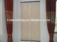 Wooden bead door curtain indian beaded curtains office