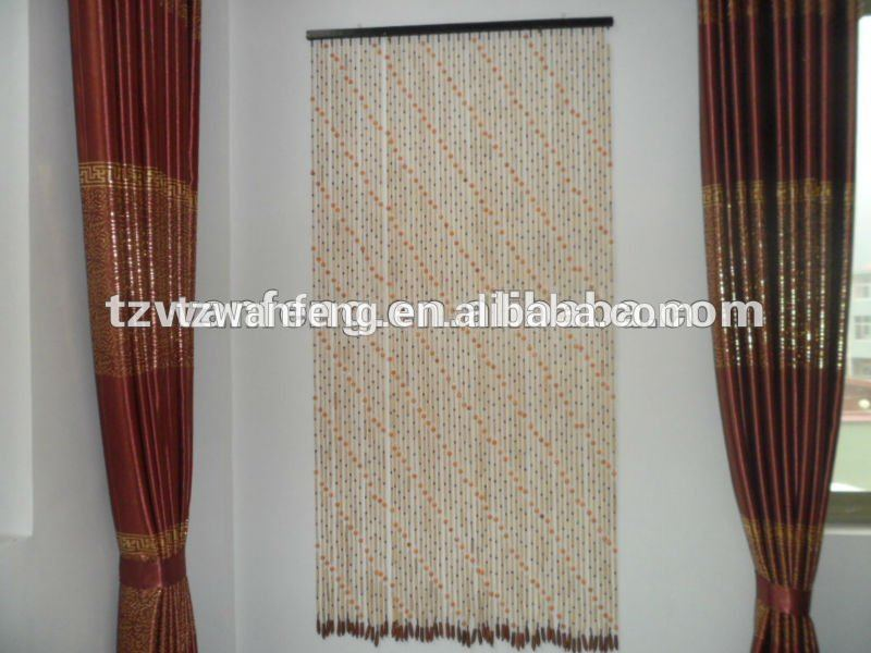 Wooden bead door curtain indian beaded curtains office