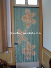 New Fashion Christmas Designs Wood Bead Curtain industrial curtain track