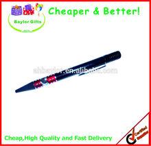 Factory price metal like promotional plastic logo pen plastic pens plastic click ballpen