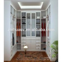 glass door wardrobe designs in Foshan