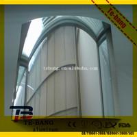 Aluminum parabolic mirror/solar reflector sheet
