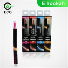 Hot sale colorful e cig e hook big vapor hookah e shisha pen