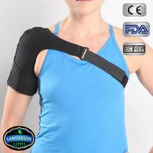 breathable adjustable neoprene single shoulder support