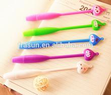 Cute Onion Shape Face Long Style Gel Flexible Finger Pen