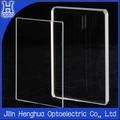 Cuadrados de vidrio de la ventana bk7/k9/de cuarzo/zafiro/de cristal