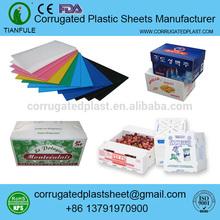 polypropylene coroplast corfltue correx plum produce boxes