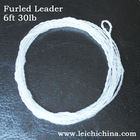 transparent fly fishing line furled fishing leader