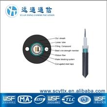 GYDXTW Ribbon Fiber Optic Cable 12 core fiber optic cable label