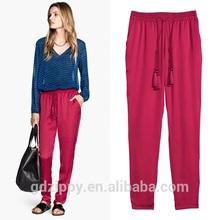 Ladies Satin Shirt And Pant Color Combinations Women's Pants