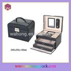 genuine leather jewelry box (WH-0991)
