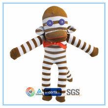 Cool sock monkey children toy