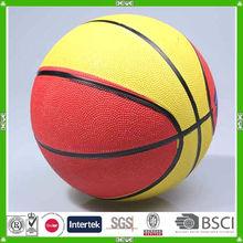 China custom mini rubber basketball wholesale with customized logo