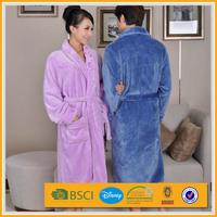 xxl plus size custom striped print extra long men bathrobe