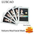 white masks wholesale Volcano skin whitening clay face mask