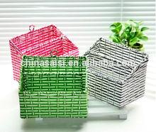 Creative design Paper String Knitting Storage Box