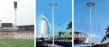 Alibaba China Manufacturer Football/Basketball Field Pole Lights, 240w Billboard Design fiberglass street lighting pole