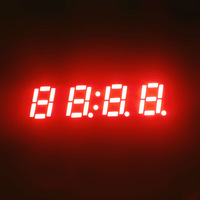 Alibaba express Quad Digit four 4 digits gps digital led clock display