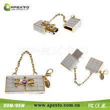 Superb cute jewel purse usb Promotional USB Flash Drive woman gift Shenzhen Manufacturer 1-32GB!!!