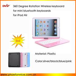 Bluetooth Keyboard Hot Selling 360 degree wireless keyboard 2.4Ghz ABS Bluetooth Keyboard for IPAD mini