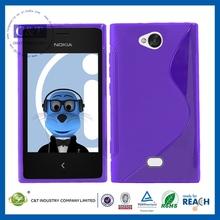 Innovative plain phone case wholesale tpu case for nokia asha 302