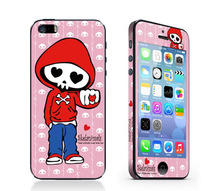 Hot Selling Fashion Sticker for iPhone 5S Phone Sticker with Front and Back Stickers