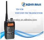 dual band radio transmitter microphone cb