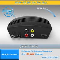 Low price HD DVB-T2 Receiver Hybrid DVB-T2 STB dvb t2 set top box