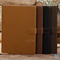 Retro style Folio cover PU leather case for iPad Air 5 P-IPD5CASE036