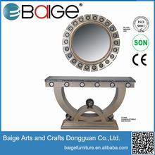 rectangular wall mirror acrylic clear console table teak console table