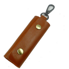 The new car key cases cowhide leather car key wallets of leather key cases