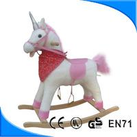HI EN71 Hot sale inflatable rocking horse