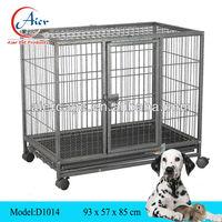 folding square tube dog cage