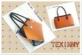 nuevo tlhs1403090 las mujeres de moda elegante en relieve de cuero genuino superior de la bolsa