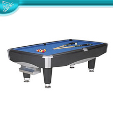Solid Wood Slate Billiard Game Pool Table