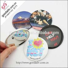 Hot Sale badge custom pin button cheap tinplate button badge
