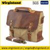 Men's Latest Fashionable Vintage Canvas Single Sling Tote Bag with Slip Pocket