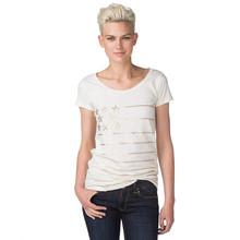 wholesale women fashion t-shirt beaded t-shirt custom t-shirt