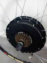 city e-bike brushless dc motor 36v 750W for Rear Wheel