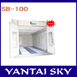 SB-100 factory price/used car paint booth/spraying booth