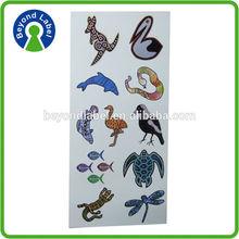 Wholesale anime sticker vinyl decal,removable color print custom anime vinyl stickers