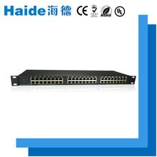 A 24-port rj45 interface low voltage China surge lightning arrester design