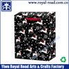 XMAS062# Merchandise Customized Offset Printing Xmas Gift Paper bag
