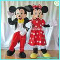 hola caliente para la venta de minnie mouse traje de la mascota