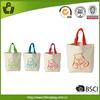 2014 promotional new design wholesale canvas tote bags bulk