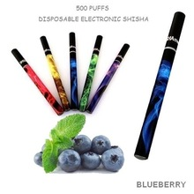 Hottest in europe market top selling e shisha pen with high quality 500puffs