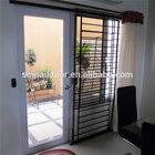 Aluminium decorative metal window iron grills security bars